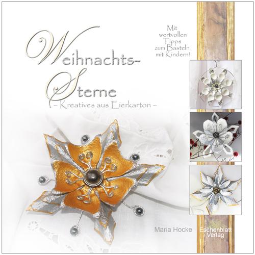 Weihnachtssterne - Kreatives aus Eierkarton Cover