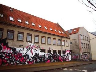 "Das neue ""Ungdomshuset"" Dortheavej 61 Kopenhagen, Nordwest"