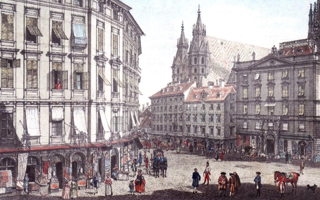 Wien omkring Mozarts tid
