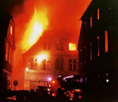 Brandattentatet den 23. november 1992  i den lille by Mölln