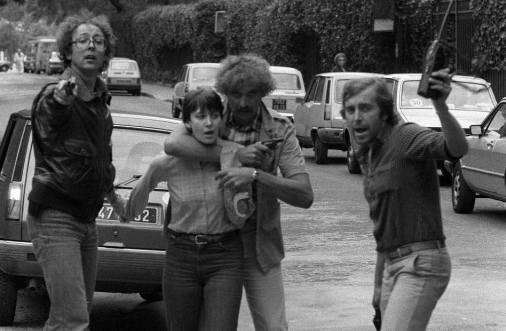 Anholdelse af Nathalie Ménigon fra Aktion Direkte den 14.september 1980 i Paris