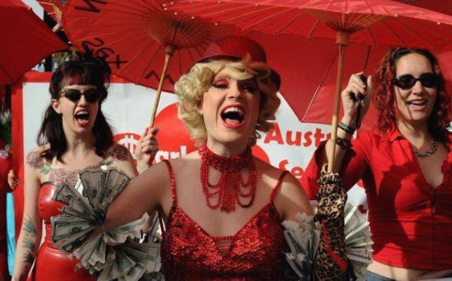 Sexarbejder-demo i Sidney