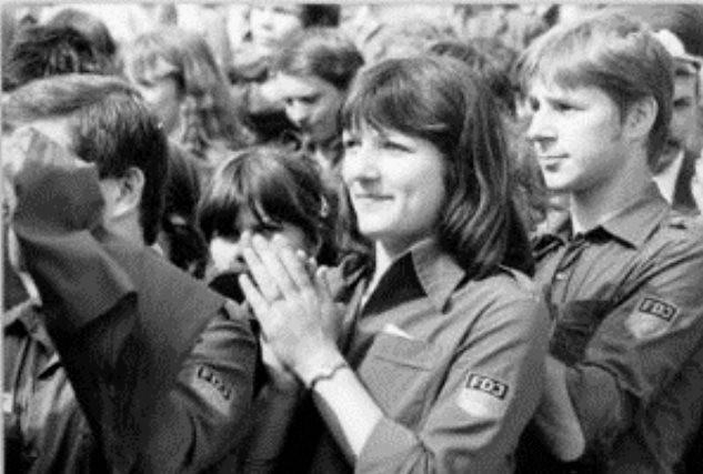 Statspartiet SEDs ungdomsforbund 'Freie Deutsche Jugend' - FDJ