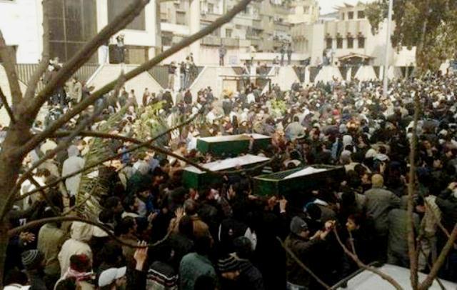 Oppositionen på gaden i Damaskus