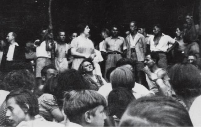 Illegalt sammentræf af Revolutionære Socialister i juli 1934 i Wienerwald