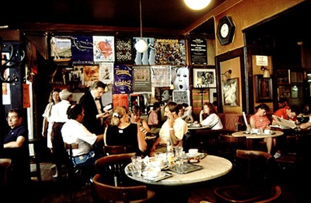 Café Hawelka i Wien