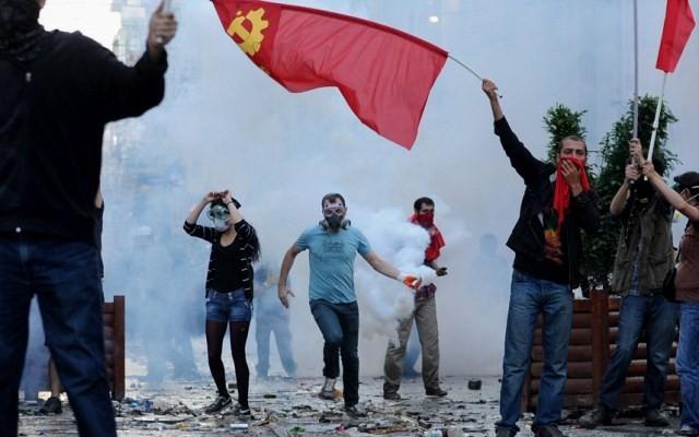 Gezi-park folkeopstand juni 2013