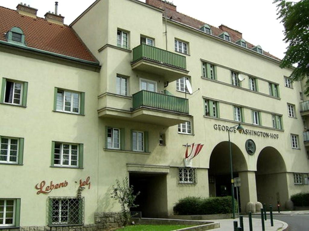 Georg-Washington Hof i Wiens 10. distrikt Favoriten