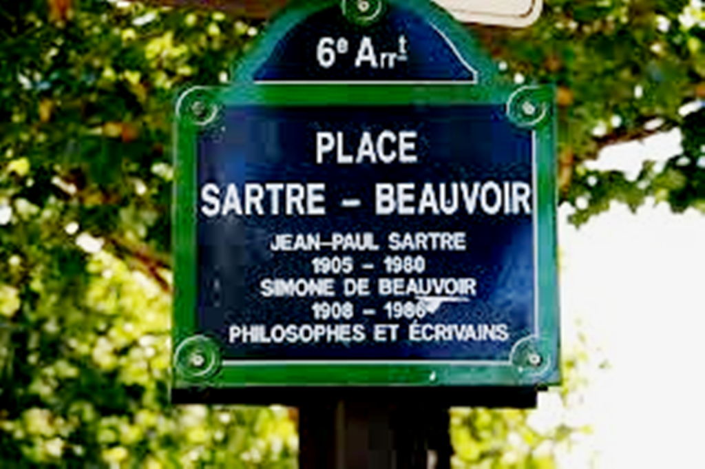 'Place Sartre-Beauvoir'