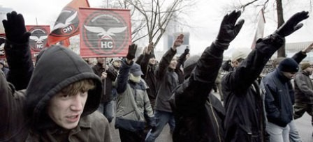 Nazi-manifestation i Moskva