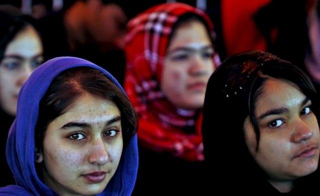 8.marts møde i Kabul, arrangeret af RAWA-kvinder