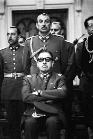 Augusto Pinochet og den øvrige militærjunta