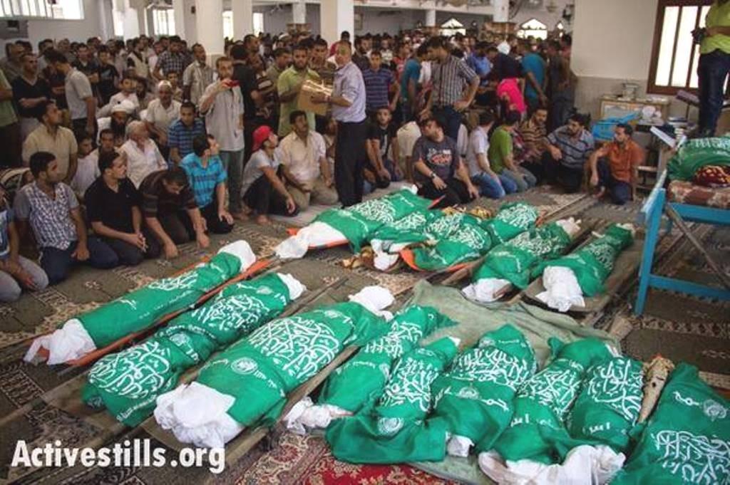 Foreløbig bilans for Israels bombeterror mod Gaza: 583 dræbte og 3621 sårede palæstinensere ...