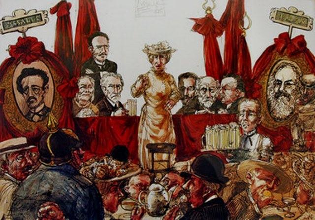 Rosa Luxemburgs ideologiske kontroverser med SPDs ledelse
