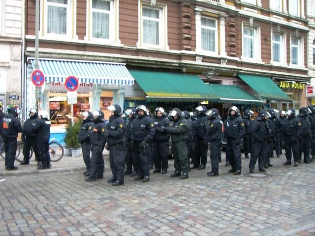 Politiindsats d. 21. december 2013