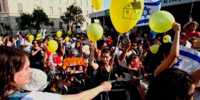Weekendens protester i Jerusalem