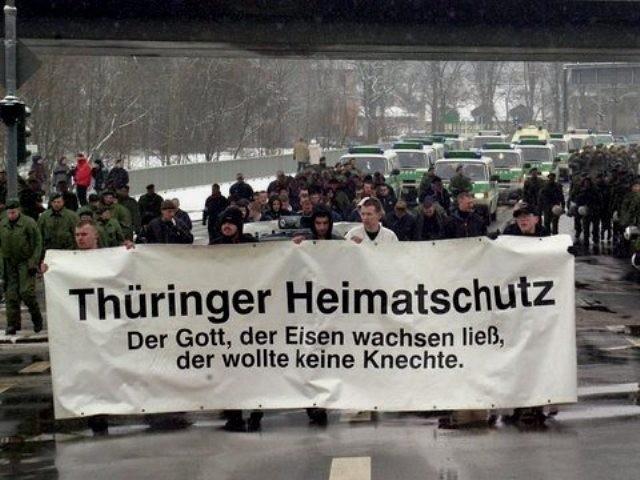 """"""" Thüringer Heimatschutz"""" i 1990'erne"""
