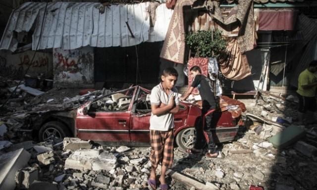 Gaza, d. 10. juli 2014