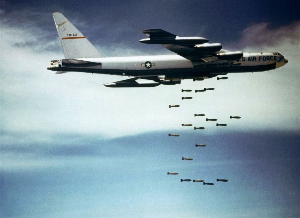 B-52 - bombefly over Vietnam