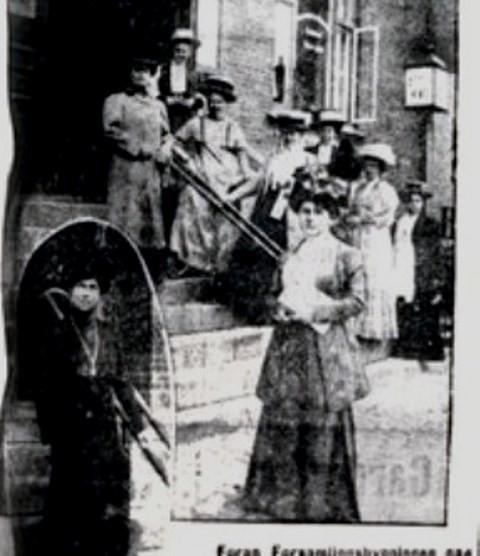 København, Jagtvej 69: Kvindekongres 1910