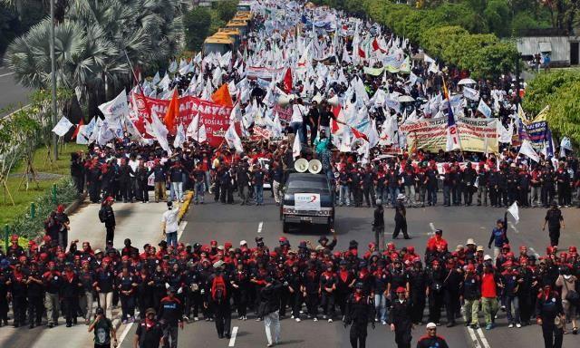 1. maj i Indonesien