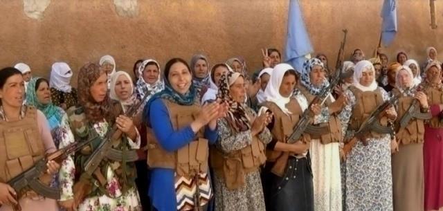 """Kurdisk """"Sehid Jin"""" - enhed"""