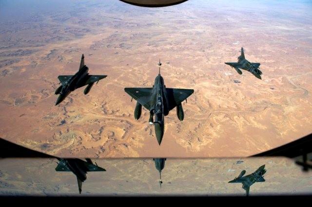 Frankrigs militærindsats i Mali