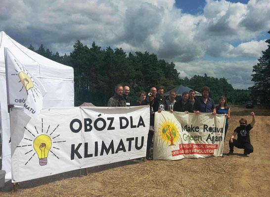 Solidaritet med Rojava fra Polen