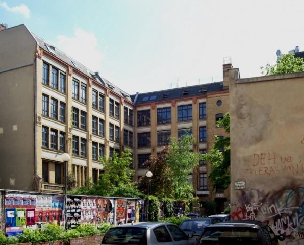 """Spektrum i Mehringshof (idag """"Clash)"""