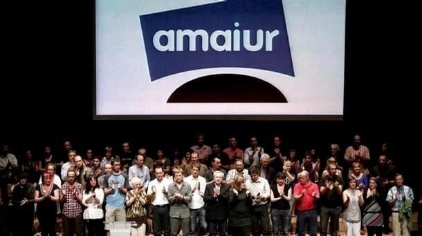 Valgmøde af Amaiur i Pamplona, den 6.november 2011