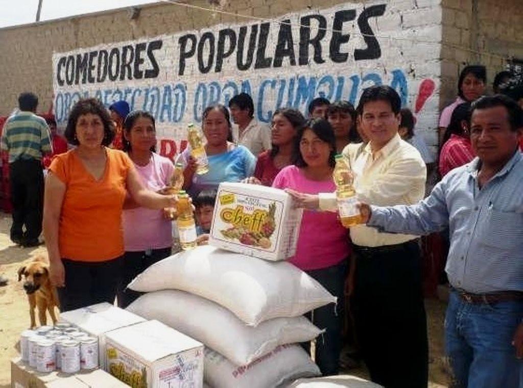 Producentdistribution indenfor de peruanske 'comedores populares'