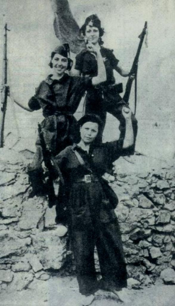 Mujeres libres CNT/FAIs militskvinder
