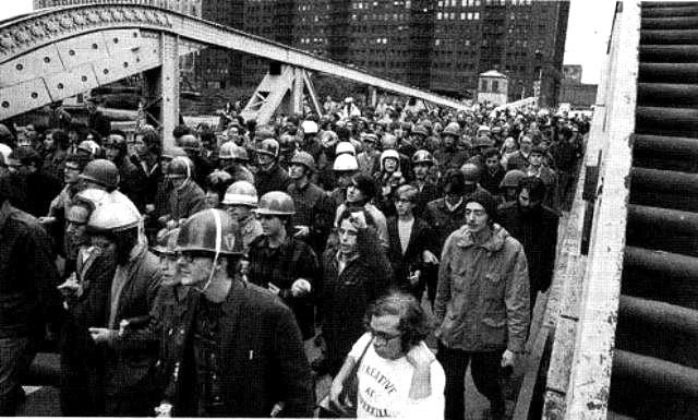 Chicago, d. 8. oktober 1969: Militant demo organiseret af Weather Underground