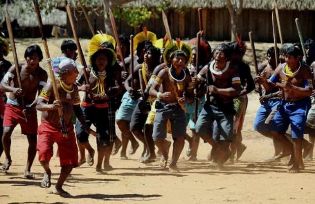 Brasiliens indigene indbyggere
