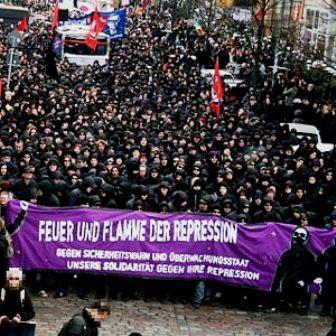Hamburg: Autonom antirepressionsdemo (2008)