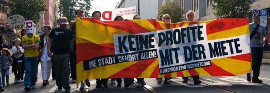 """IL-blok på """"Retten til byen"""" - demo i Berlin"""