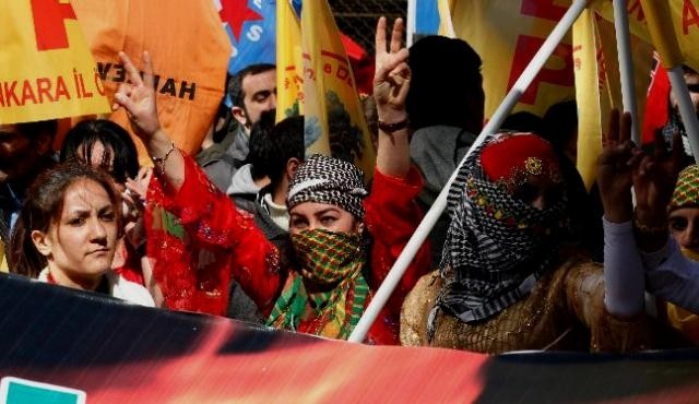 Det kurdiske nytårsfest Newroz - 2012