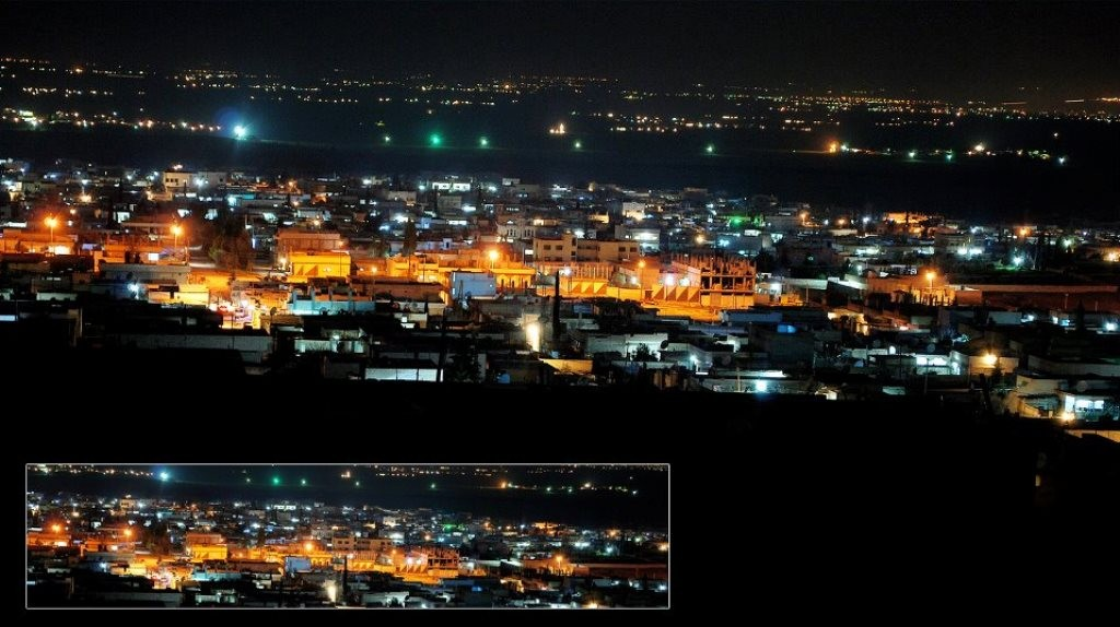 Den belejrede kurdiske by Kobani