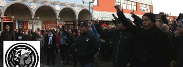 """""""Pantrarna"""" tæller ifølge egne oplysninger omkring 40 aktivister. Dertil kommer 150 medlemmer og mere end tusind sympatisører."""