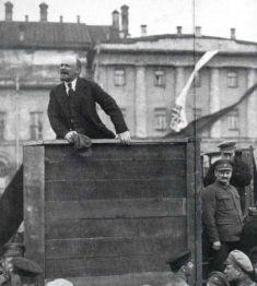 Lenin og Trotskij
