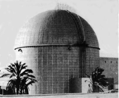 Israels hemmelige atomanlæg Dimona i Negev-ørkenen