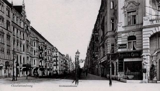 Berlin - Charlottenburg omkring 1900-tallet