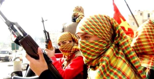 Kurdisk kvindemilits