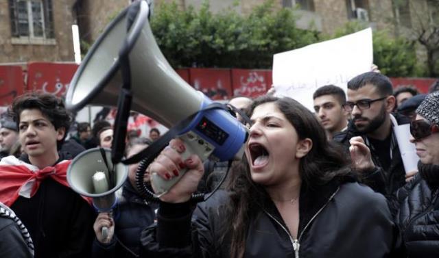 Folkeopstanden i oktober 2019 i Beirut