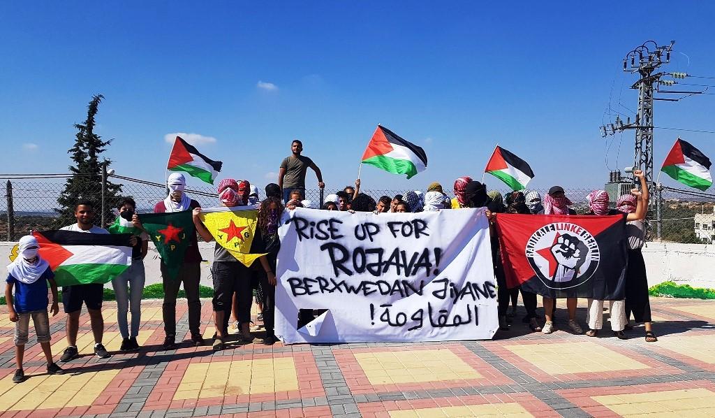 Solidaritet med Rojava fra Palæstina - Vestbredden
