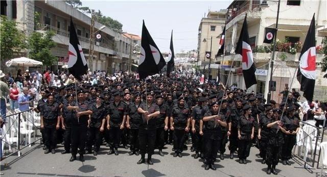 Det syriske nationalsocialistiske parti - SSNP