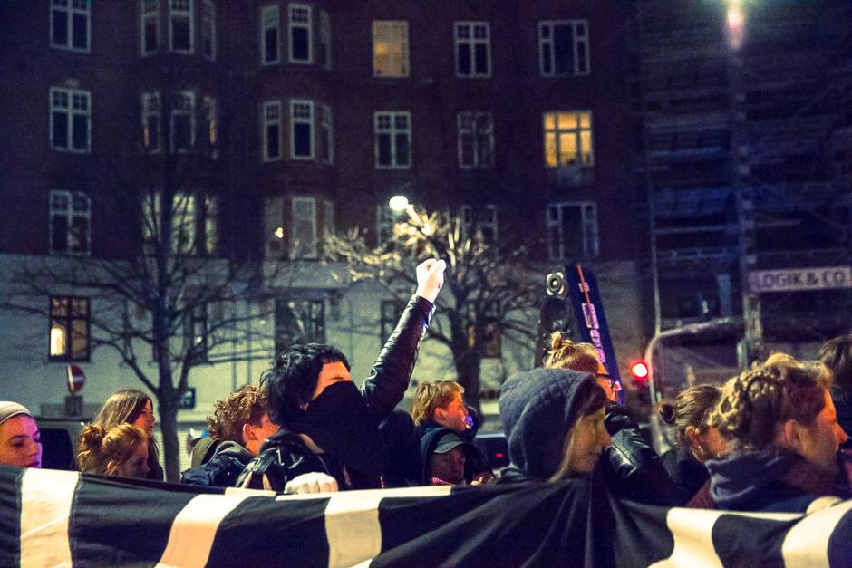 """8.marts demo i København: """"Vi Ta'r Natten Tilbage"""" ( Foto: Mette Kramer Kristensen)."""