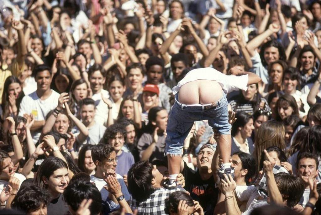 """Studenterdemo i Lissabon: """" Vi betaler ikke!"""""""