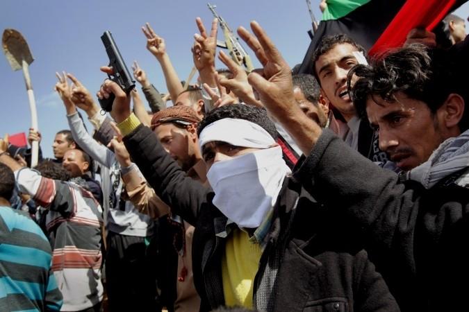 Benghazi under folkeopstandens kontrol @ al-Jazeera, 1.marts 2011