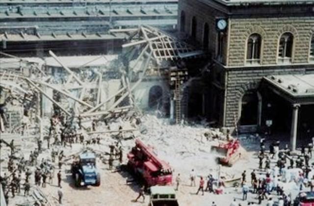 Fascisternes bombeattentat på Bolognas banegård den 2.august 1980